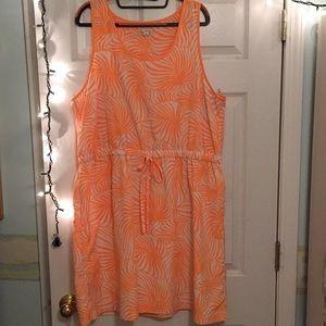 Fun lead patterned dress